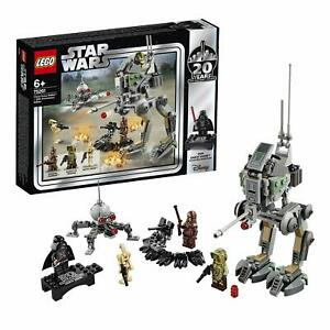 LEGO-Star-Wars-Clone-Scout-Walker-Edition-20eme-Anniversaire-TOUT-NEUF