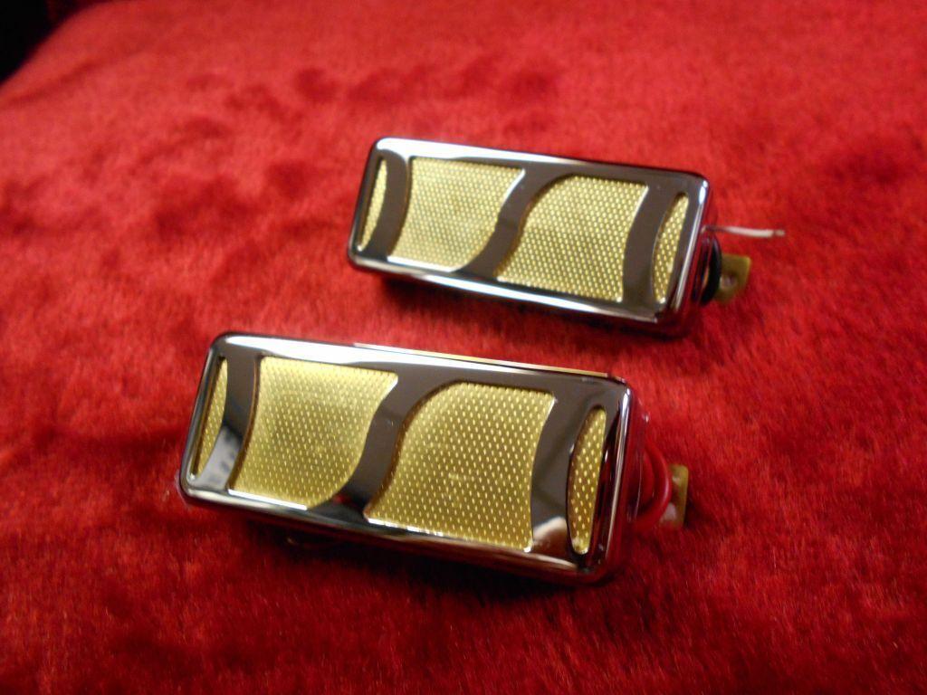 2 oro FOIL recolección para para para TEISCO HARMONY KAY plataTONE DEARMOND Par  tienda de bajo costo