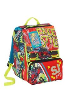 selezione premium 2a747 2f087 Details about School Backpack Separable SEVEN SJ GANG BOY Multicolored Free  Style
