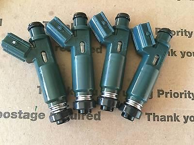 1ZZFE Toyota Fuel Injectors Set Denso 23250-22010 Corolla Prism OEM 1.8l Lexus