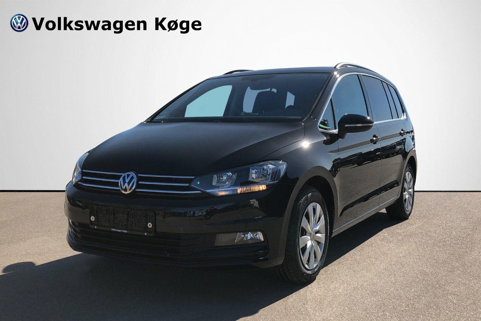 VW Touran 1,6 TDi 115 Comfortl. Connect DSG 5d - 319.900 kr.