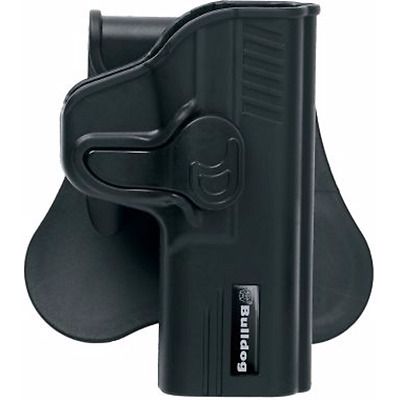 Kydex Paddle Holster Fits Ruger EC9s Is Made with Plastic Injection Mold