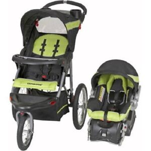 Details About Baby Toddler Jogging Stroller With Car Seat Jogger Travel System 3 In 1 Best