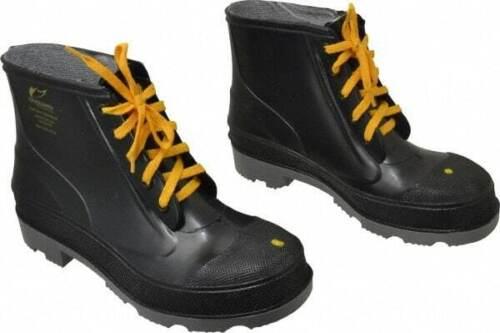 P... Dunlop Protective Footwear Men/'s Size 9 Medium Width Steel Work Boot Black