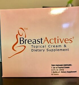 Breast Actives All Natural Breast Enhancement Capsules Cream
