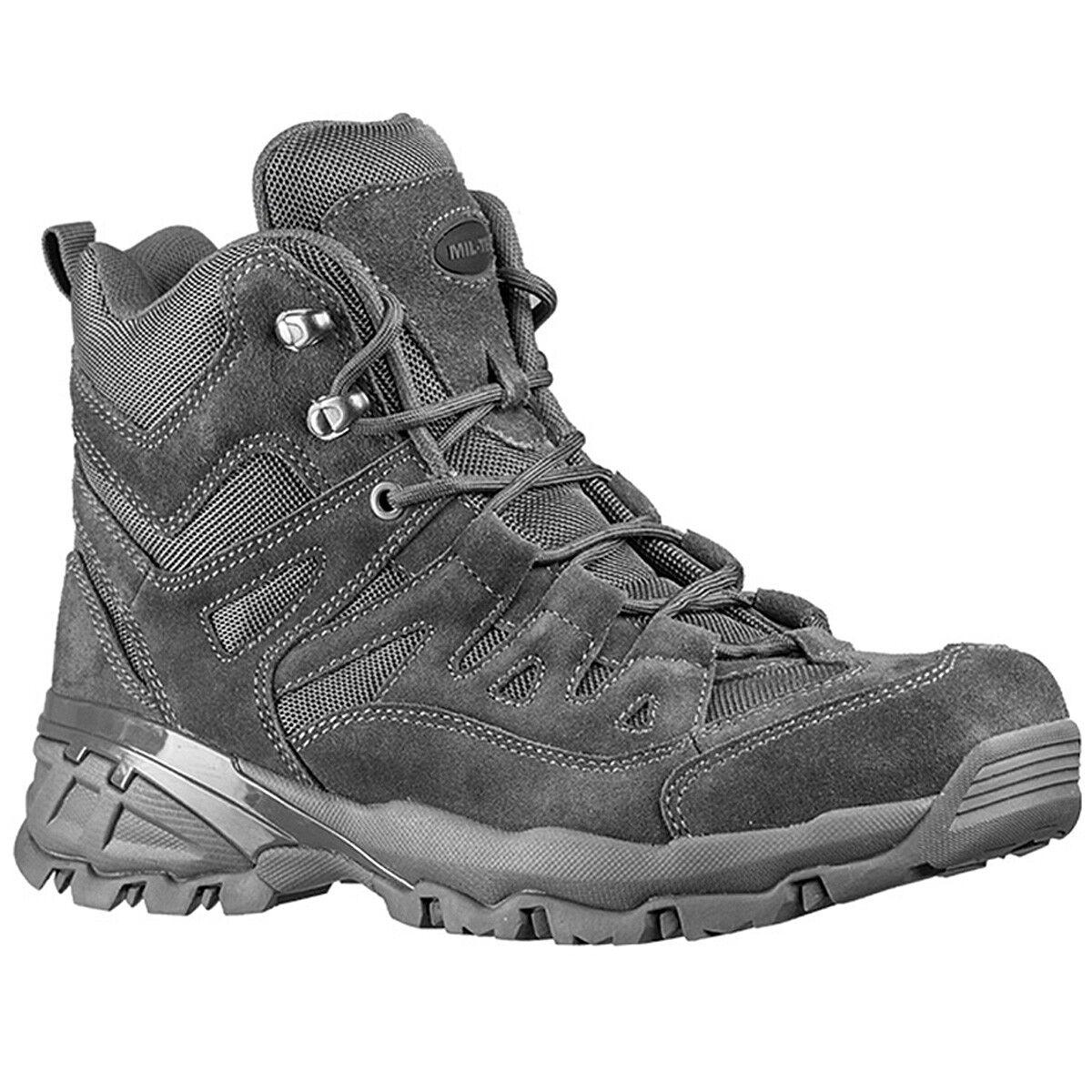 Mil-tec outdoor bota botas Squad trekking semi semi semi botas botas 562b76