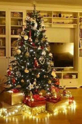UNDECORATED*** Tesco 6FT Pre Lit 150 Warm White LEDS Evergreen Christmas Tree