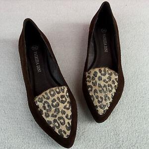 wildleder damen ballerinas leo print slipper von patrizia. Black Bedroom Furniture Sets. Home Design Ideas