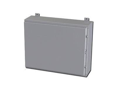 "SCE-806ELJ w//BP Saginaw Enviroline Series Enclosure 8/"" x 6/"" x 4/"""