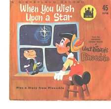 DISNEY--PICTURE SLEEVE ONLY--(WHEN YOU WISH UPON A STAR)--PS--PIC--SLV