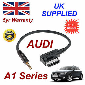 pour-Audi-A1-4F0051510F-CABLE-JACK-INPUT-convient-a-tout-3-5MM-prise