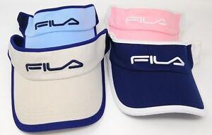 f3c8ea87de8 FILA Fans Clip-On Sun Visor Hat for Tennis Gold Beach in Many Colors ...