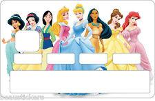 Stickers Autocollant Carte bancaire - Skin - CB Princesse 1141
