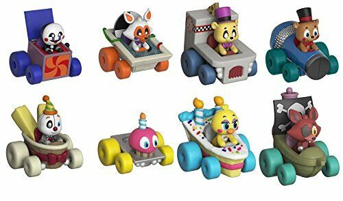 Super Racers Five Five Five Nights at Frossody's Set of 8 Vinyl cifras divertimentoko 91506e