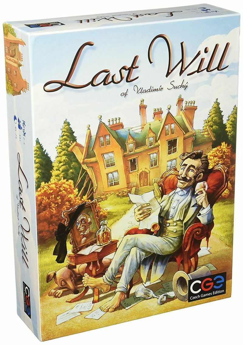 Czech JEUX EDITION Last Will Board Game (CGE00016)