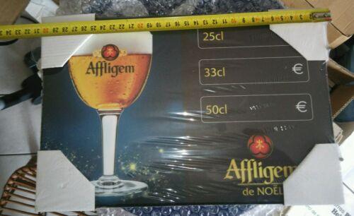 Petit cadre ardoise AFFLIGEM bière de Noël tarif