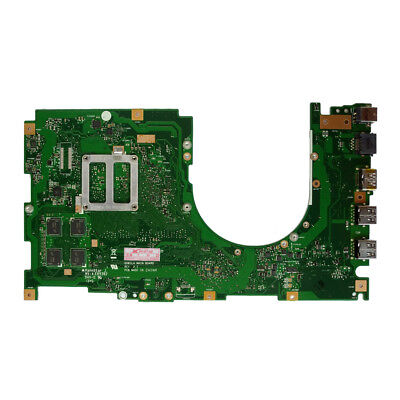 For ASUS Q501LA Motherboard  W// i5-4200U 4GB 60NB01F0-MB6010 REV2.0 Mainboard