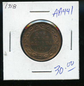1918-Canada-Large-Cent-MS62-Red-and-Brown-DC330