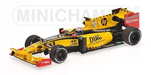 Renault F1 R30 V. Petrov 2010 Formula 1 1:43 Model MINICHAMPS | Outlet Online Store