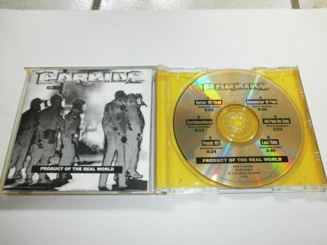 Carbide: Product Of The Real World (6-tr.-EP, US private press. 1998, Thrash)