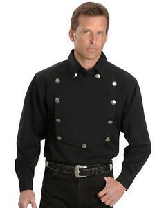 Rangewear par Scully Homme Rangewear solide frontière Ingénieur à manches longues