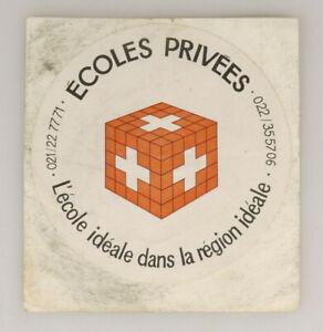 PRL) éCOLES PRIVéES SWITZERLAND ADESIVO COLLEZIONE STICKER COLLECTION AUFKLEBER