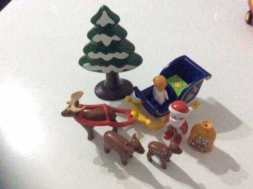 Playmobil 123 Weihnachtsmann mit Rentierschlitten 6787 Playmobil