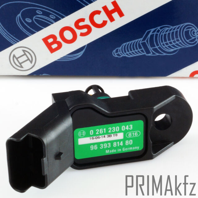 Bosch 0 261 230 043 Sensor Aumenta la Presión Admisión Citroen Peugeot DS-S2-TF