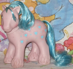 Vintage-My-little-pony-G1-Daddy-Bright-Bouquet-1987-Collector-condition-Toy
