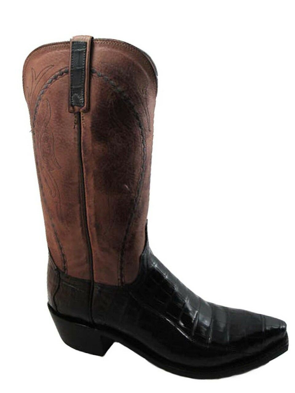 Lucchese Men's 1883 N9495.54 Ultra Belly Caiman Tail