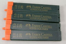 Four 12-Packs Of Faber-Castell Pencil Lead - 1.0mm 2B - Germany - New