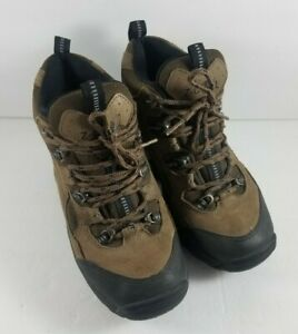 Womens Z-Coil Hiking Boots Brown Black Size US 7 Pain Relief Comfort Shoes