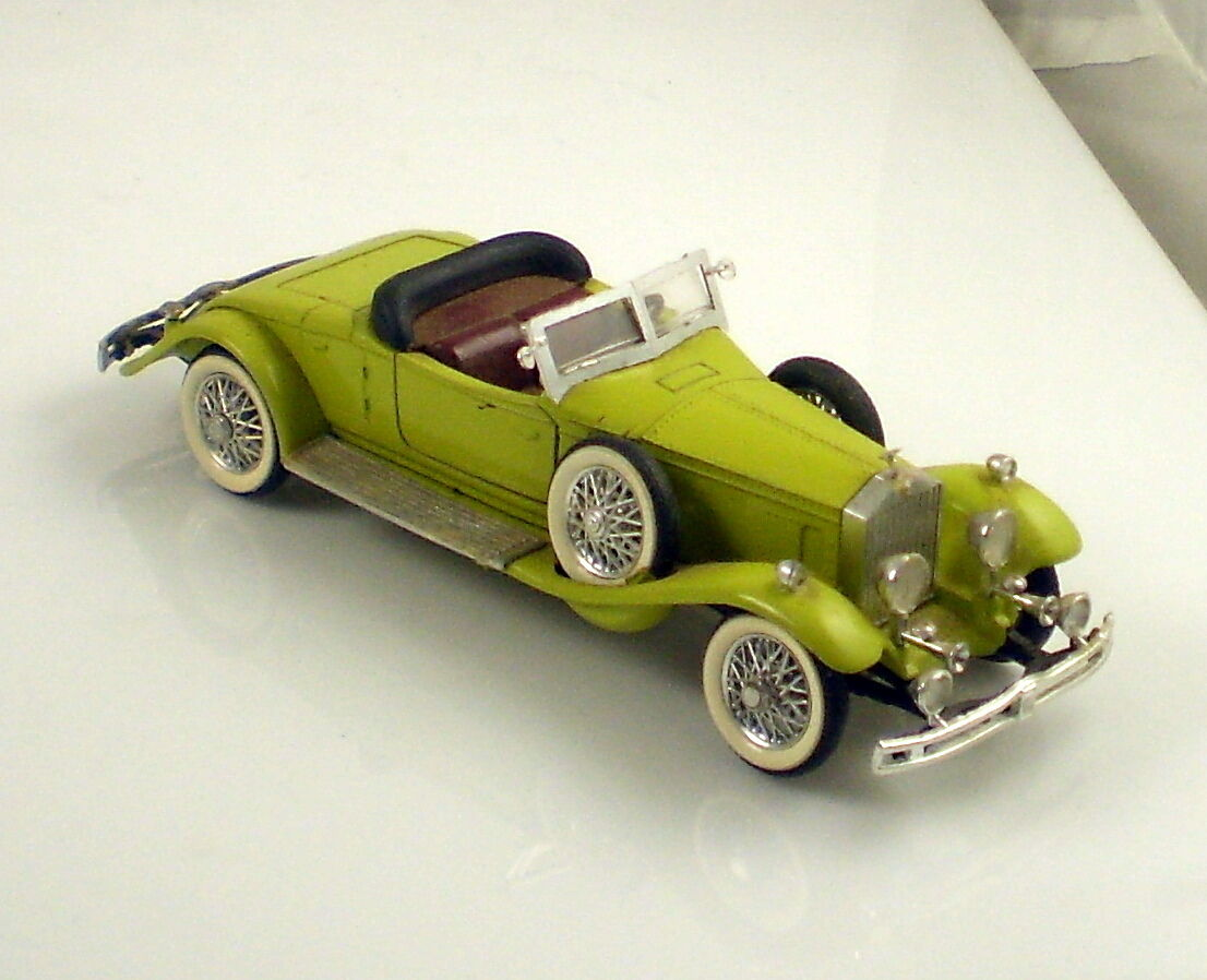 RIO Made in ITALIEN årgång 1931 Rolls Royce Lime grön 1 43 skala Die Cast bil