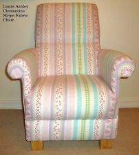 Item 3 Laura Ashley Clementine Stripe Fabric Adult Chair Nursery Armchair Lilac Pink