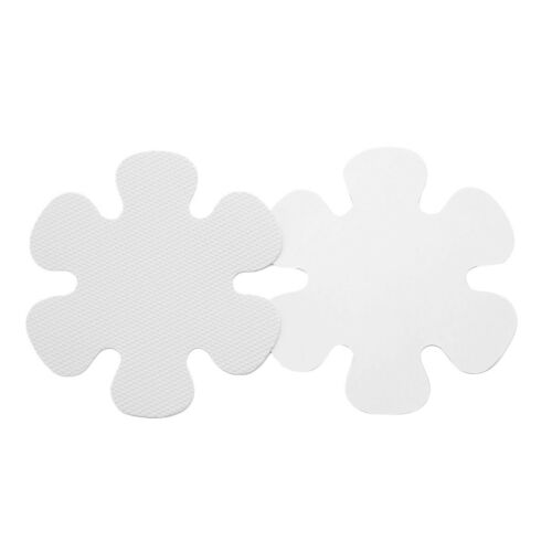 US 20Pcs 10cm Anti-slip Bathtub Decals Stickers Bath Shower Treads for Tubs Home