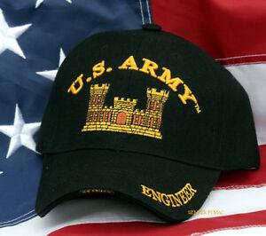 f8d55148c2fa5 ENGINEER US ARMY HAT CAP VETERAN RETIREMENT GIFT CASTLE WOWAH PIN UP ...