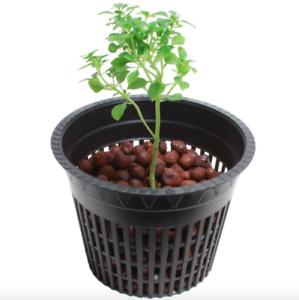 4 inch Net Pot Nursery Garden Hydroponic Planter 50 Pack Flower Plant Vegetable