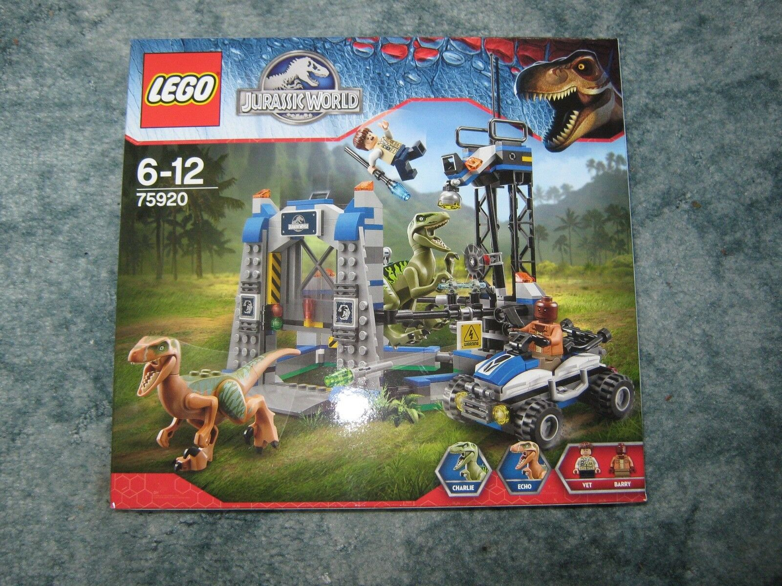 LEGO  Jurassic World  Raptor Escape  75920  NEW