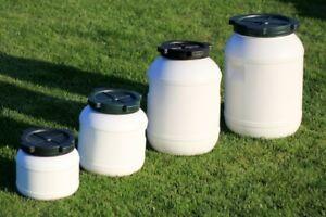 Weithalsfass-Futtertonne-10-20-30-65-l-Kunststoff-Regen-Fass-Gepaecktonne