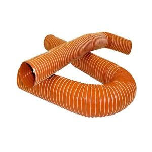 """3.15/"""" Silicone 2 Ply Black 2 Metre Air Ducting Flexible Duct Cold /& Hot 80mm"""