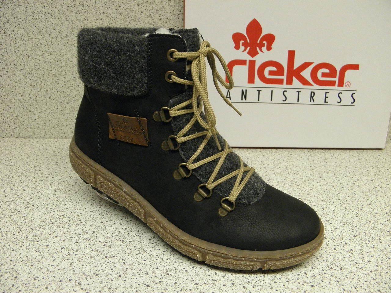 rieker ®  Top Preis  warm  schwarz   superbequem  Z7943-00 (R393)