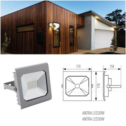 30 Watt Kanlux Professional Flutlichtstrahler ANTRA LED 30W-NW GR Grau