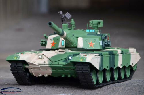 Heng Long 116th Scale Chinese Smoke Sound BB Battle Tank ZTZ99 RC Model Tank
