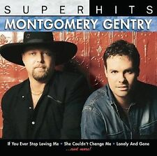 Super Hits by Montgomery Gentry Country Music CD Lonely & Gone, She Couldn't