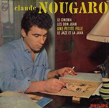 CLAUDE NOUGARO UNE PETITE FILLE FRENCH ORIG EP MICHEL LEGRAND