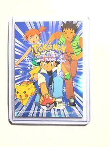 Pokemon NM Topps Pokemon Trading Cards Series 1 Checklist Topps