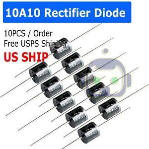 10A10-10-Amp-1000V-10A-1KV-Axial-Rectifier-Diode-10-Pcs-USA-SELLER-solar-panel
