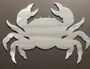 Image Is Loading Crab Ocean Metal Wall Art Nautical Marine Sea