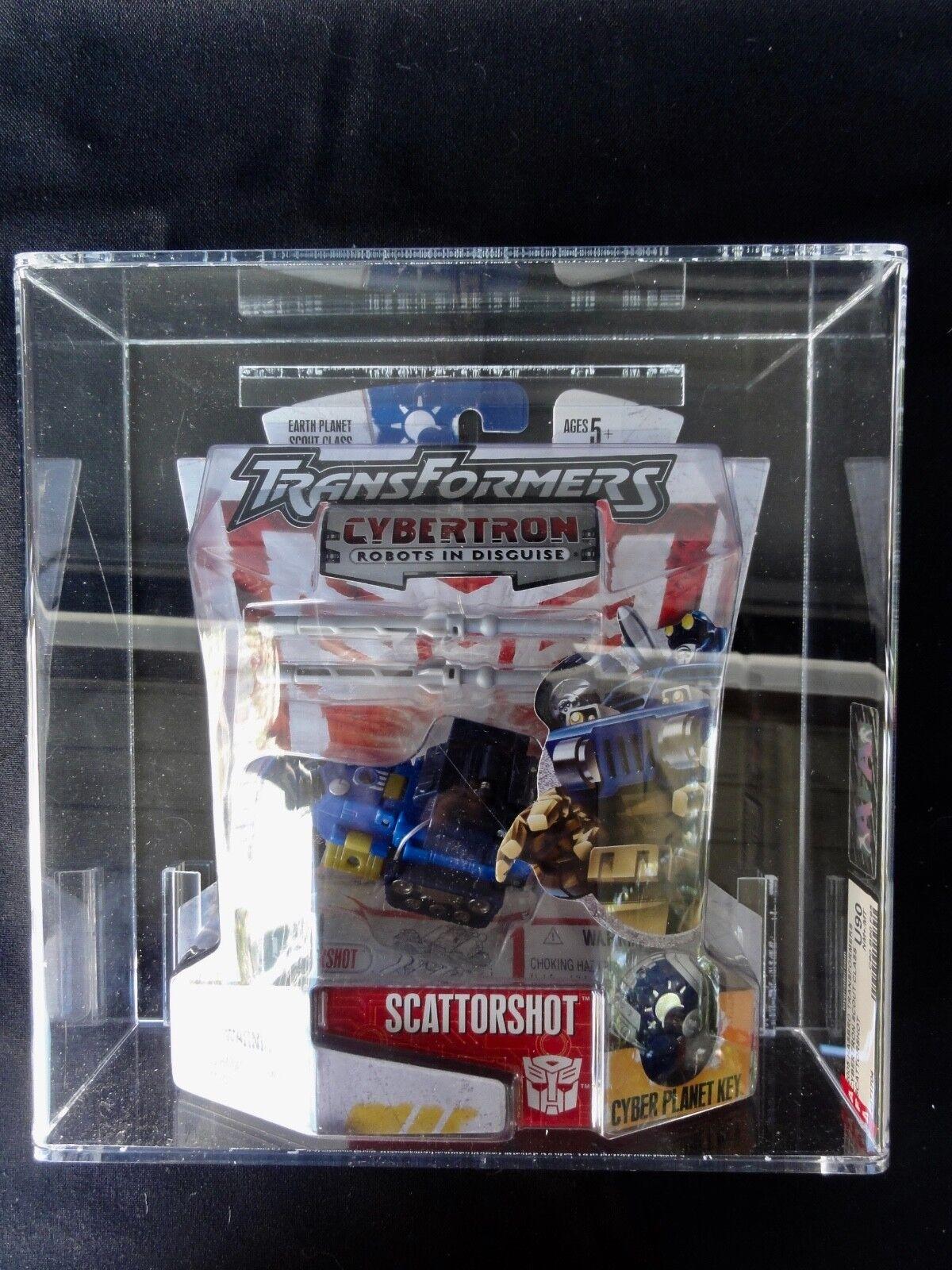 2005 Figura De Acción Transformers autoridad Cybertron Scattorshot Cinta sellado menta en caja sellada caja de menta en caja