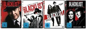 The Blacklist Staffel 2-5 (2+3+4+5) DVD Set Neu und Originalverpackt